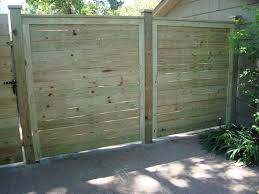 7 Ft Horizontial Fence With Exposed 6x6 Posts Wood Fence Installation Wood Fence Fence