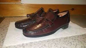 Men's Florsheim 12 D 12D Como Cherry Smith Tassel Slip-On Loafers ...