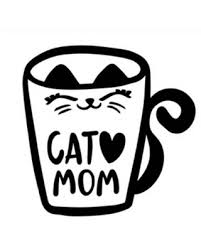 Great Deal On Cat Mom Vinyl Decal For Cars Walls Tumblers Cups Laptops Windows Home Laptop Computer Truck Car Phone Bumper Sticker Decal