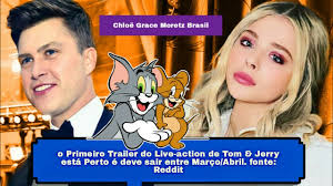 Tom And Jerry (2020) Live-Action Trailer, Chloë Grace Moretz ...