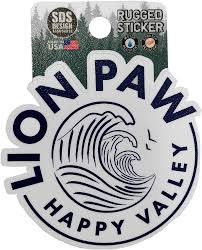 Penn State Rugged Lion Paw Sticker Souvenirs Stickers And Decals Empty
