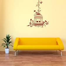 Romantic Bird Cage Wall Decal Style And Apply