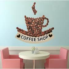 Shop Coffee Shop Decor Coffee Shop Decal Coffee Shop Sticker Coffee Shop Wall Art Overstock 31885932