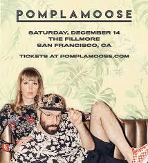 Pomplamoose in San Francisco at The Fillmore