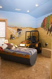 What Boy Wouldn T Love To Have A Tractor In His Room I Know Some Grown Boys That Would Love It Bedroom Themes Kid Room Decor Space Themed Bedroom