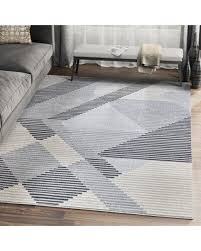 "Spectacular Sales for Orren Ellis Sumter Gray Geometric Area Rug X111891886  Rug Size: Rectangle 7'9"" x 10'2"""