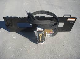 Danuser T3 Tee Post Driver Skid Steer Attachment 3 Diameter Oil Field Posts Skid Steer Attachment Depot