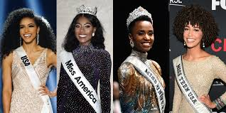 4 major pageant winners are all black women for the first time