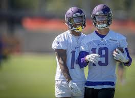 Stefon Diggs and Adam Thielen miss each other, and it's adorable ...