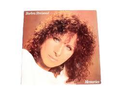 Barbra Streisand Memories Vinyl Album