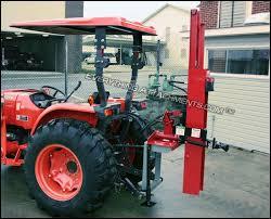 Shaver Hydraulic Post Driver Model Hd 8