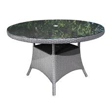 solano round wicker 48 dining table