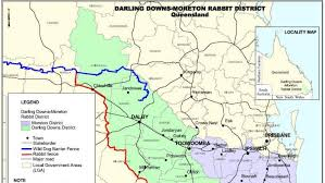 Darling Downs Moreton Rabbit District Map Abc News Australian Broadcasting Corporation