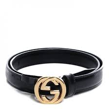 gucci leather gg belt black 65 26 86447