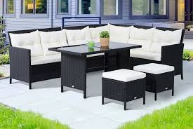 rattan garden furniture set garden