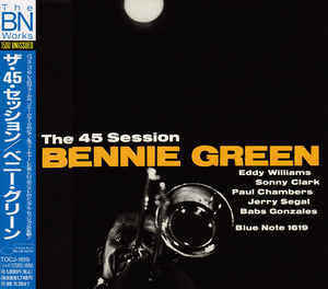 Image result for bennie green 45 session""