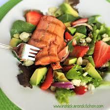 Strawberry Avocado Salad with Honey ...