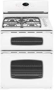 inch freestanding gas double oven range