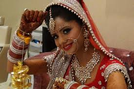 how do bridal makeup in hindi
