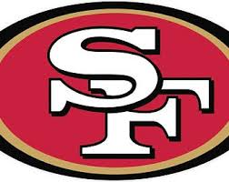 49ers Decal Etsy