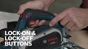Bosch Power Tools Pl1632 Pl2632 Planers Product Video Youtube