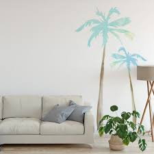 Palm Tree Wall Decals Labeldaddy