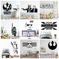 3d Star War Wall Stickers Personalized Creative Pvc Wall Decals Wall Decal Home Accessories Wall Stickers Aliexpress