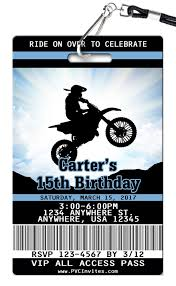 Dirt Bike Birthday Invitation Cumpleanos De Moto Invitaciones