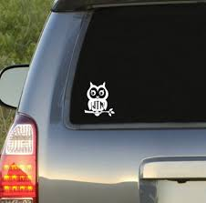Owl Monogram Decal Underthecarolinamoon Com