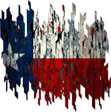 Distressed Texas Flag Decal Full Color Texas Flag Decal Etsy