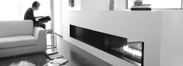 stylish contemporary gas fireplaces