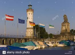 New lighthouse of Lindau, Lake of Constance, west Allgäu, Allgäu Stock  Photo - Alamy