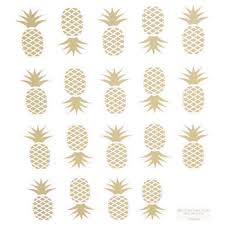Gold Foil Pineapple Stickers Hobby Lobby 1158344