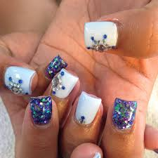 pretty acrylic nail designs