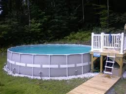 Pool Intex Metal Frame Pool For Years Of Family Enjoyment Griffou Com