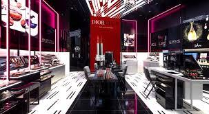 dior makeup boutique lights up new york