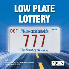 announces 2019 low plate lottery