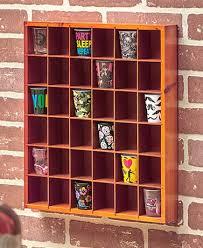 shot glass display shelves the