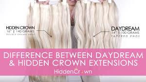 daydream hidden crown hair extensions