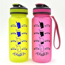 Unicorn Water Hydration Label Sticker Decal Water Bottle Or Etsy Water Bottle Bottle Bottle Decals
