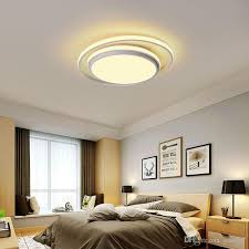 modern round led ceiling light slim