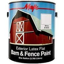 Kilz Exterior Siding Fence And Barn Paint Red 1 Gallon Oil Paintings Amazon Com