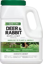 Liquid Fence Deer Rabbit Repellent Granular 40 Lb Bottle Chewy Com