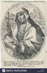 Santa Brigida di Svezia, Crispijn van de Passe (MI), 1602 Foto ...