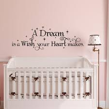 Cinderella Wall Decal Girl A Dream Is A Wish Your Heart Makes Etsy