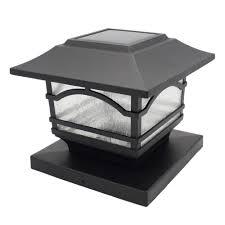 Davinci Premium Solar Led Post Cap Light C Outdoor Light For Fence Deck Or Patio Solar Powered Caps Warm White Lighting Aluminum Lamp Fits 4x4 Or 6x6 Post Solar Fence