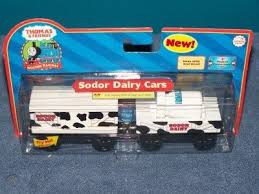 sodor dairy cars new thomas tank wooden