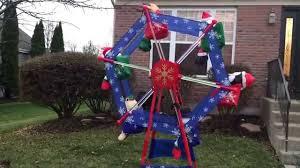 gemmy animated christmas ferris wheel