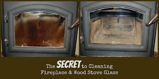 glass on wood stoves and fireplaces