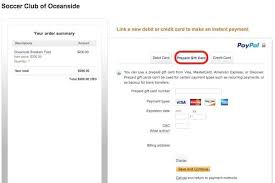 using gift cards on paypal